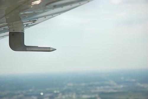 tubo de pitot en aviones