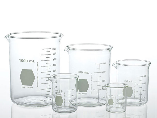 Vaso de precipitado de laboratorio