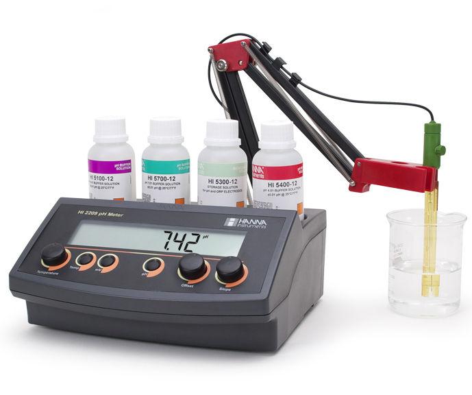 phmetro o medidor de ph