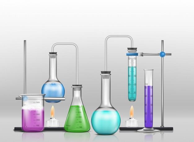 tubo de ensayo química