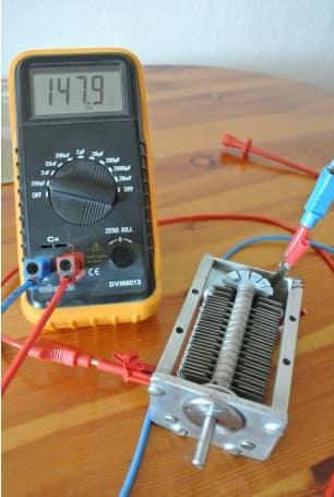 Cómo funciona el Capacimetro