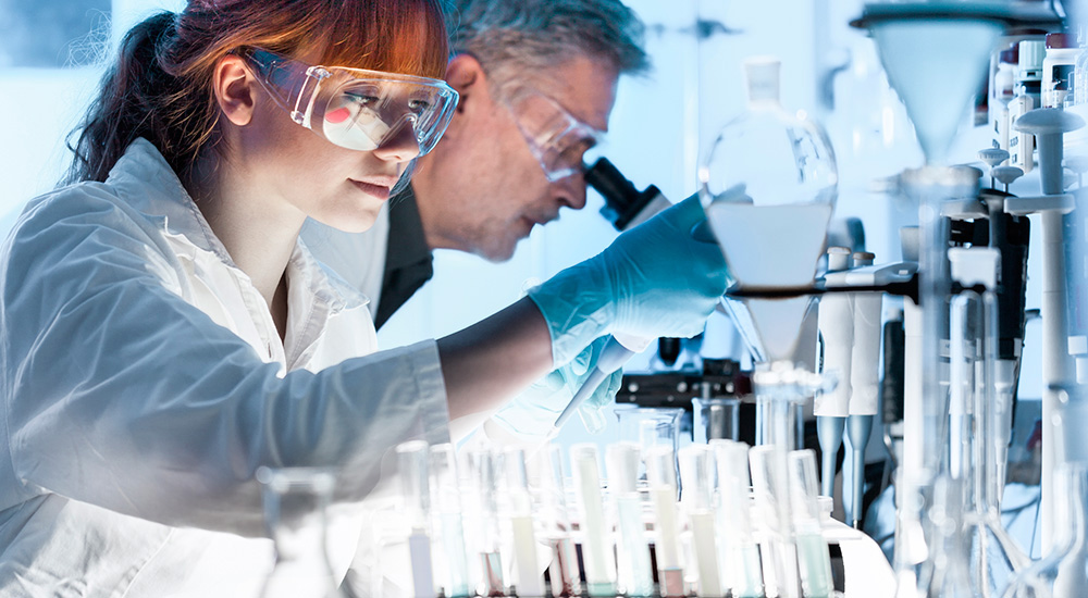 gafas de seguridad de laboratorio