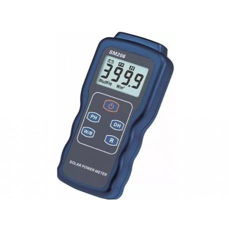 medidor de radiación solar