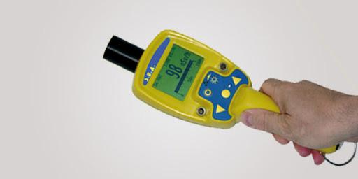 medidor de radiación