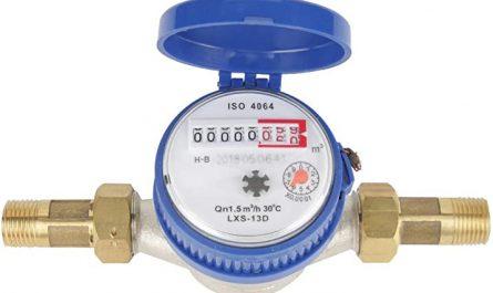 qué hace un medidor de agua potable