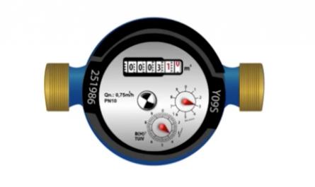Medidor de agua