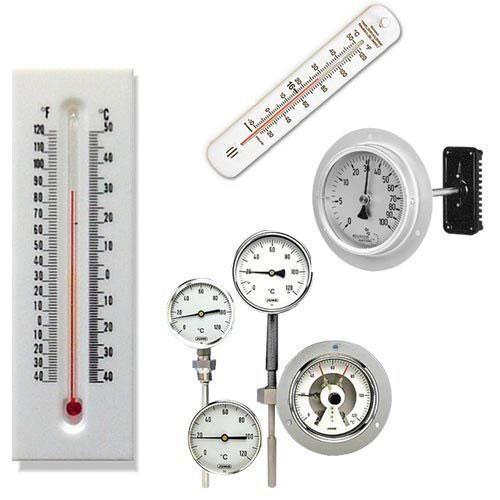 termómetro industrial
